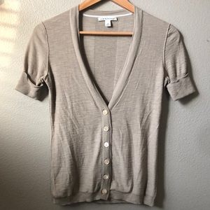 Banana Republic lightweight short-sleeved sweater